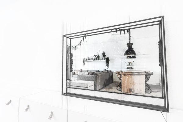 Eigen ontwerp spiegel